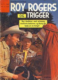 Cover Thumbnail for Roy Rogers (Serieforlaget / Se-Bladene / Stabenfeldt, 1954 series) #2/1963
