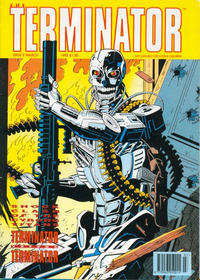 Cover Thumbnail for The Terminator (Trident, 1991 series) #8