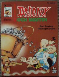 Cover Thumbnail for Asterix (Ny utgåva) (Hemmets Journal, 1979 series) #13 - Asterix och skatten