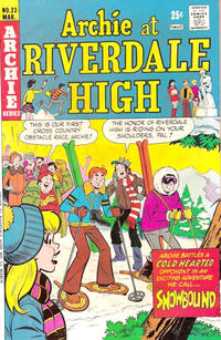 Cover Thumbnail for Archie at Riverdale High (Archie, 1972 series) #23