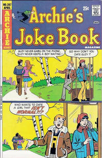 Cover Thumbnail for Archie's Joke Book Magazine (Archie, 1953 series) #207