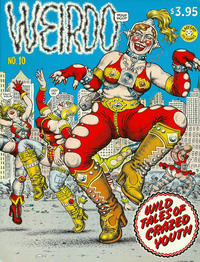 Cover Thumbnail for Weirdo (Last Gasp, 1981 series) #10 [2nd print- 3.95 USD]