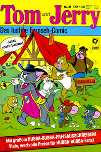 Cover Thumbnail for Tom & Jerry (Condor, 1976 series) #34