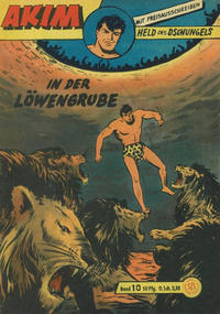 Cover Thumbnail for Akim Held des Dschungels (Lehning, 1958 series) #10