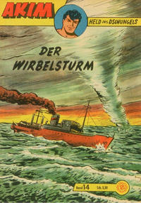 Cover Thumbnail for Akim Held des Dschungels (Lehning, 1958 series) #14
