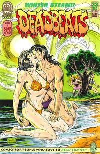 Cover for Deadbeats (Claypool Comics, 1993 series) #33