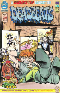Cover for Deadbeats (Claypool Comics, 1993 series) #55