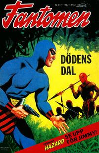 Cover Thumbnail for Fantomen (Semic, 1963 series) #11/1967
