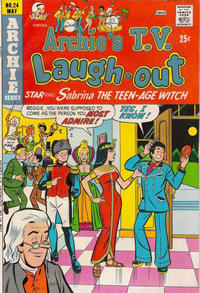 Cover Thumbnail for Archie's TV Laugh-Out (Archie, 1969 series) #24