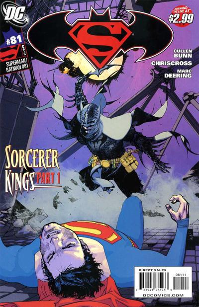 Cover for Superman / Batman (DC, 2003 series) #81