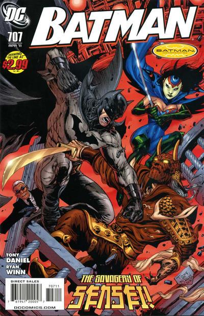 Cover for Batman (DC, 1940 series) #707