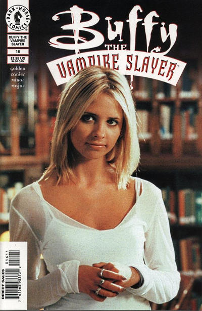 Cover for Buffy the Vampire Slayer (Dark Horse, 1998 series) #16 [Photo Cover]
