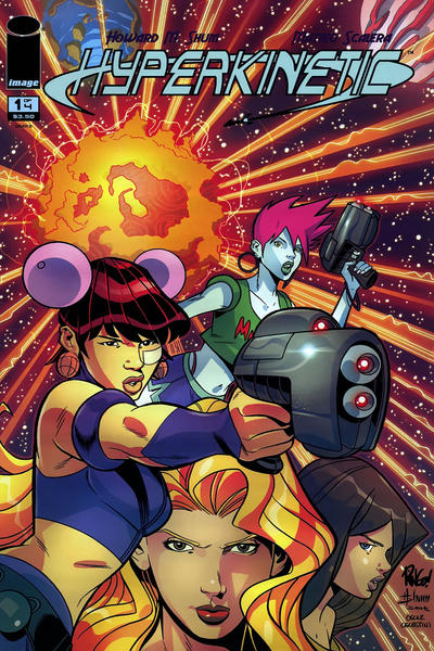 Cover for Hyperkinetic (Image, 2008 series) #1 [Cover A]