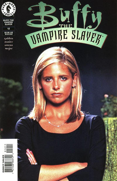 Cover for Buffy the Vampire Slayer (Dark Horse, 1998 series) #12 [Photo Cover]