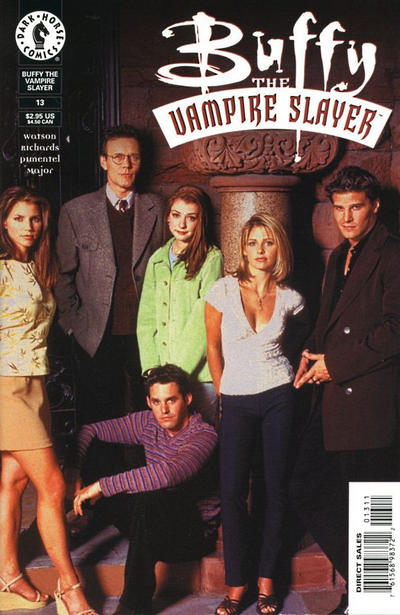 Cover for Buffy the Vampire Slayer (Dark Horse, 1998 series) #13 [Photo Cover]