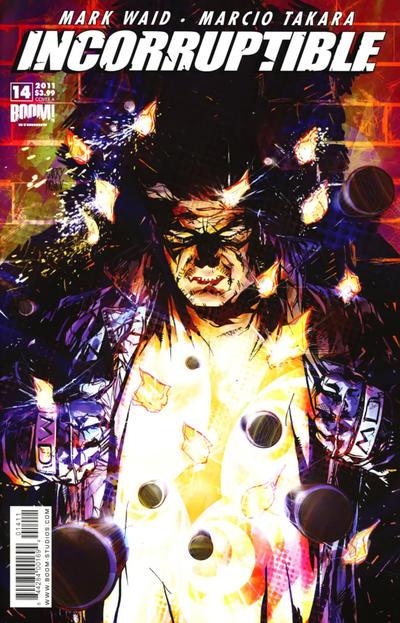 Cover for Incorruptible (Boom! Studios, 2009 series) #14 [Virgin Variant]
