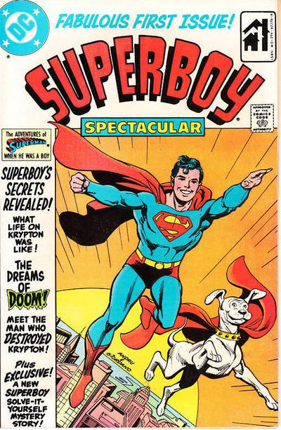 Cover for Superboy Spectacular (DC, 1980 series) #1 [Giveaway Edition]