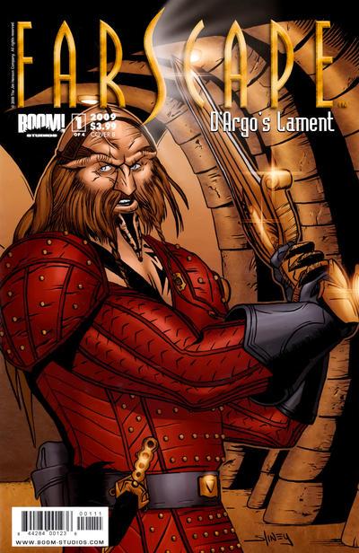 Cover for Farscape: D'Argo's Lament (Boom! Studios, 2009 series) #1 [Challenger Comics Exclusive]