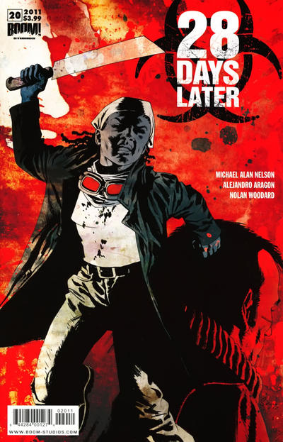 Cover for 28 Days Later (Boom! Studios, 2009 series) #20