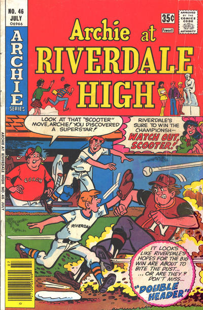 Cover for Archie at Riverdale High (Archie, 1972 series) #46