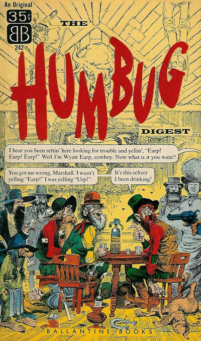Cover for The Humbug Digest (Ballantine Books, 1957 series)