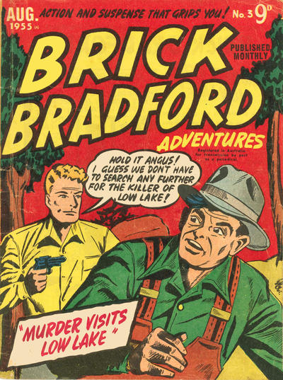 Cover for Brick Bradford Adventures (Magazine Management, 1955 series) #3