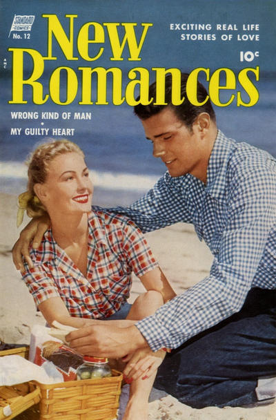 Cover for New Romances (Pines, 1951 series) #12