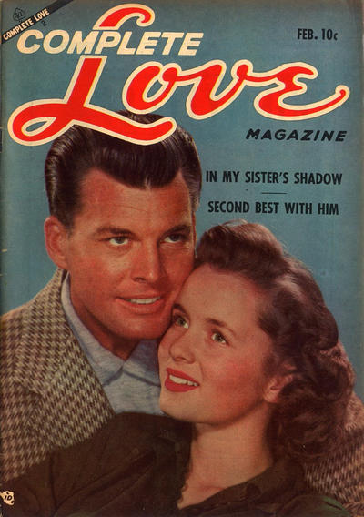 Cover for Complete Love Magazine (Ace Magazines, 1951 series) #v30#1 [175]