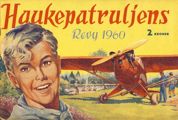 Cover for Haukepatruljen; Haukepatruljens revy (Ukemagasinet, 1937 series) #1960