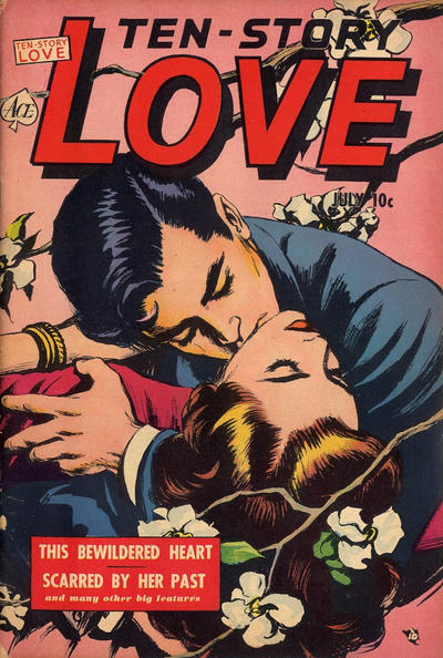Cover for Ten-Story Love (Ace Magazines, 1951 series) #v30#3 [183]