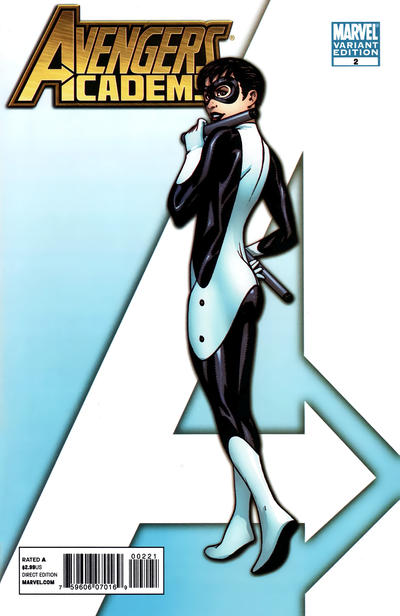 Cover for Avengers Academy (Marvel, 2010 series) #2 [McKone Variant Edition Cover]
