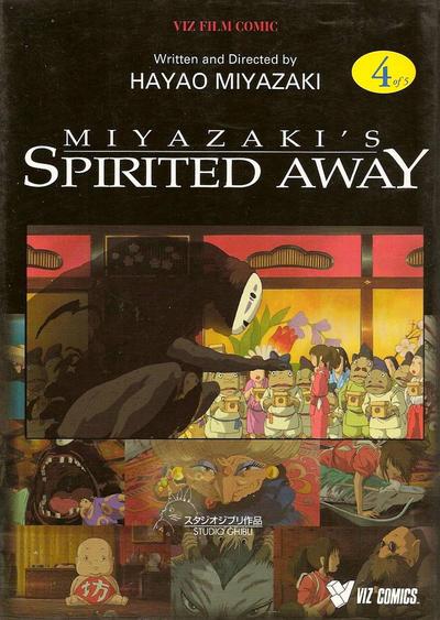 Cover for Miyazaki's Spirited Away (Viz, 2002 series) #4