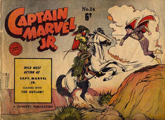 Cover for Captain Marvel Jr. (Cleland, 1947 series) #24