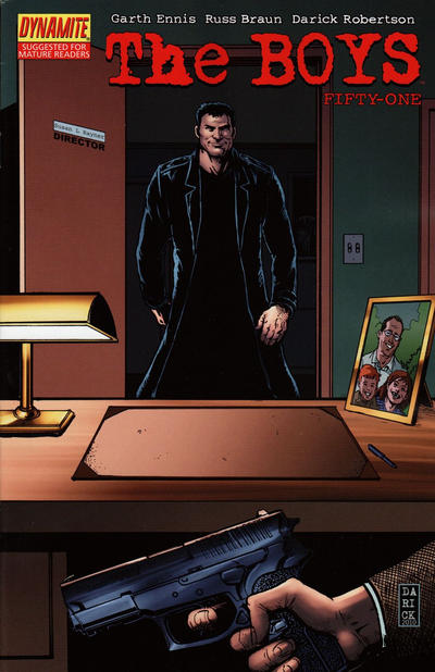 Cover for The Boys (Dynamite Entertainment, 2007 series) #51