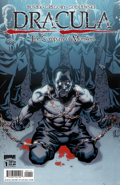 Cover for Dracula: The Company of Monsters (Boom! Studios, 2010 series) #1 [Cover B]