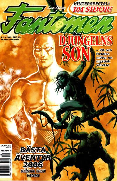 Cover for Fantomen (Egmont, 1997 series) #2/2007