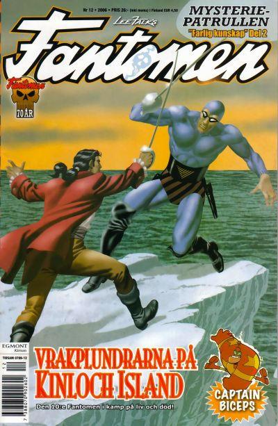 Cover for Fantomen (Egmont, 1997 series) #12/2006