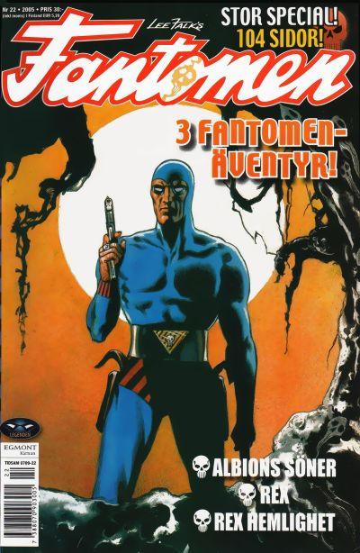 Cover for Fantomen (Egmont, 1997 series) #22/2005