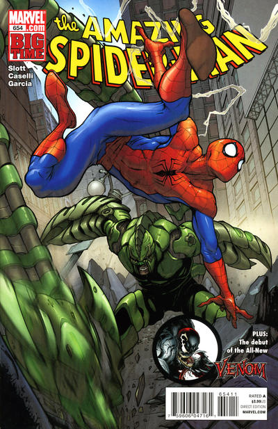 Cover for The Amazing Spider-Man (Marvel, 1999 series) #654