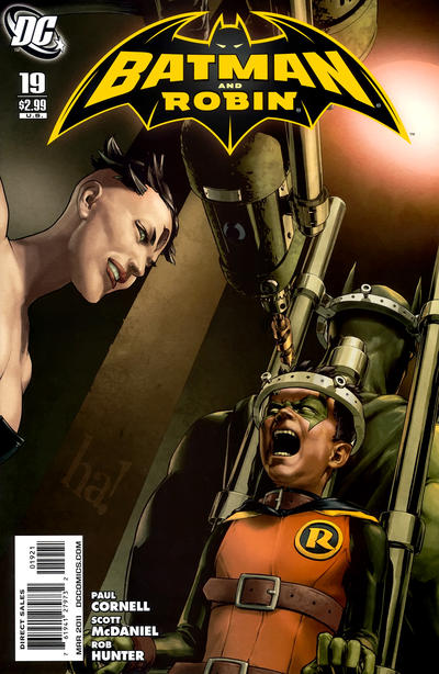 Cover for Batman and Robin (DC, 2009 series) #19 [Gene Ha Variant Cover]