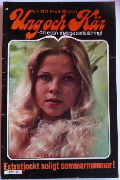 Cover for Ung och kär (Semic, 1976 series) #7/1977