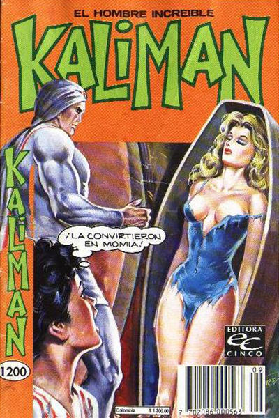 Cover for Kaliman (Editora Cinco, 1976 series) #1200