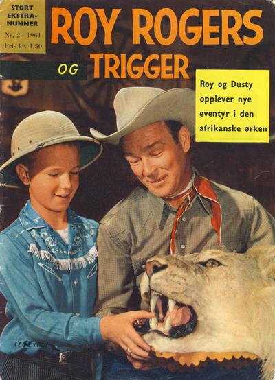 Cover for Roy Rogers (Serieforlaget / Se-Bladene / Stabenfeldt, 1954 series) #2/1961