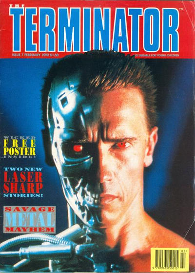 Cover for The Terminator (Trident, 1991 series) #7