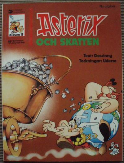 Cover for Asterix (Ny utgåva) (Hemmets Journal, 1979 series) #13 - Asterix och skatten
