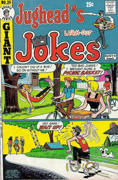 Cover for Jughead's Jokes (Archie, 1967 series) #35