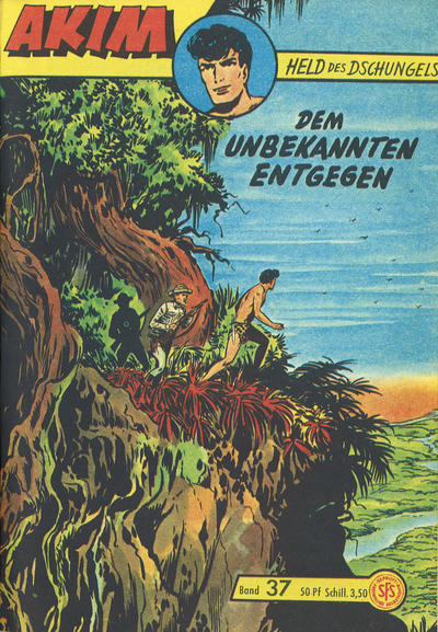 Cover for Akim Held des Dschungels (Lehning, 1958 series) #37