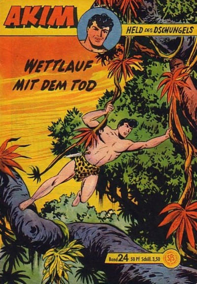 Cover for Akim Held des Dschungels (Lehning, 1958 series) #24