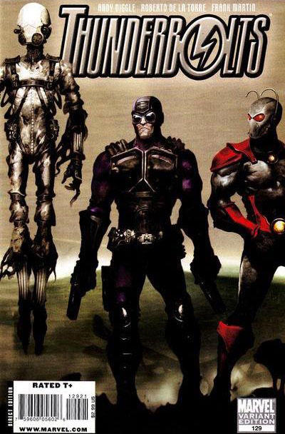 Cover for Thunderbolts (Marvel, 2006 series) #129