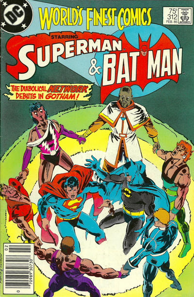 Cover for World's Finest Comics (DC, 1941 series) #312 [Canadian]